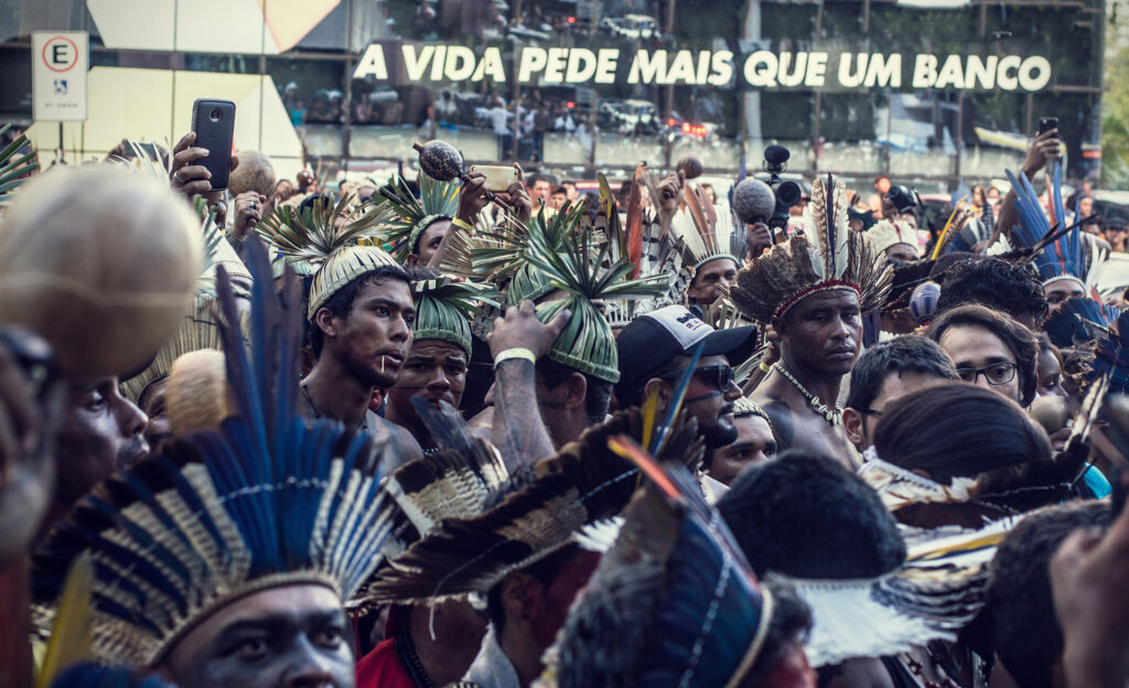 Edgar Kanaykõ Xakriabá - Povos indígenas luta e resistencia