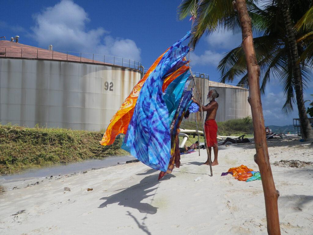Maica Gugolati, Floating Tropics, Sunbathing. 2019 TT.