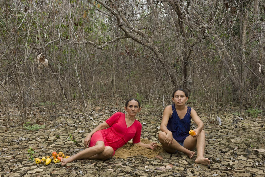 Dead Water by Participants & Marilene Ribeiro, Portrait of Maria das Graças and Delcilene