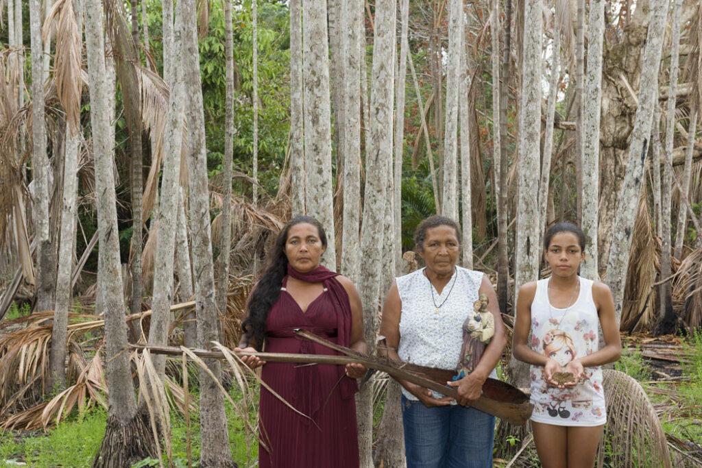 Dead Water, Participants & Marilene Ribeiro, Portrait of Maria Helena, Maria Dalva, and Larissa